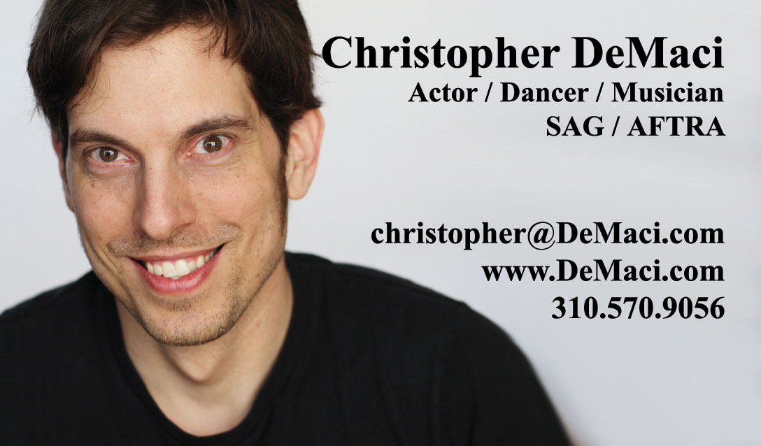 Actor business cards los angeles choice image card design and card actor business cards los angeles gallery card design and card template beautiful acting business cards contemporary colourmoves Gallery